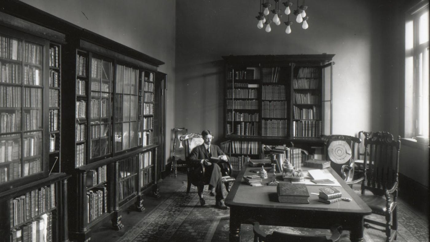 image of George Parker Winship in the John Carter Brown library