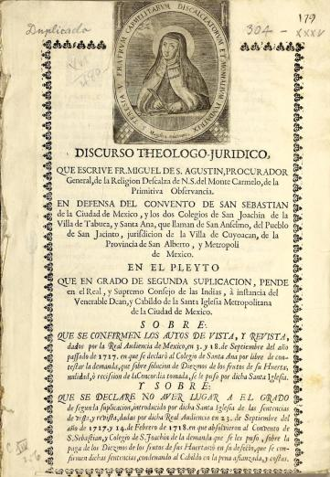 tract with portrait of Teresa of Ávila