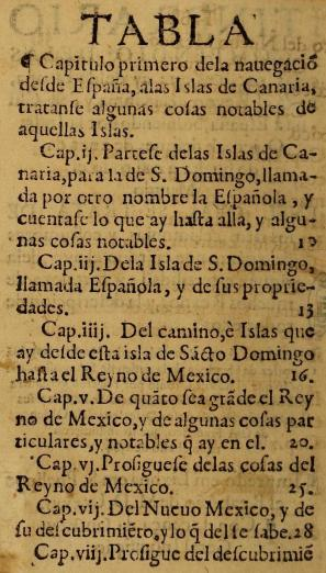 printed text in Spanish