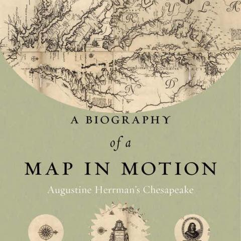 "cover of ""A Biography of a Map in Motion"" by Christian J Koot"