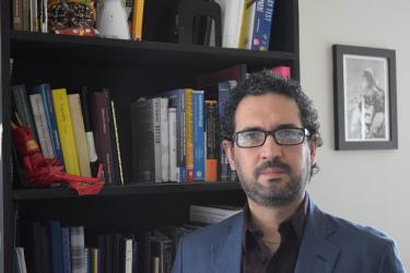 photograph of Jaime Marroquin, assistant professor of Spanish at western Oregon university