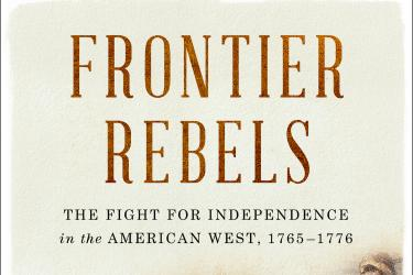 Cover of Patrick Spero's book, Frontier Rebels