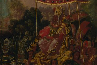 painting of Moctezuma